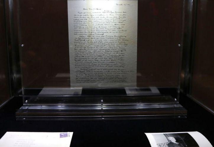 La carta, escrita en Princeton un año antes de su muerte el 3 de enero de 1954, es considerada una de sus misivas más famosas sobre Dios. (Foto: Routers)