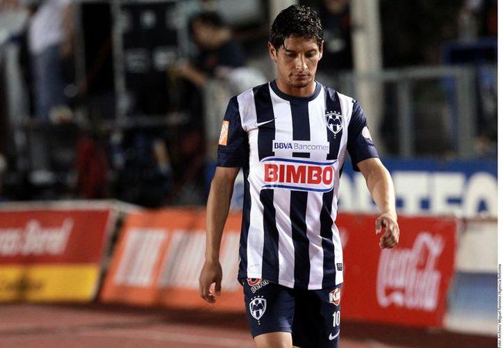 Reyna disputó 39 partidos de Liga con los Rayados y marcó siete goles. (Agencia Reforma)