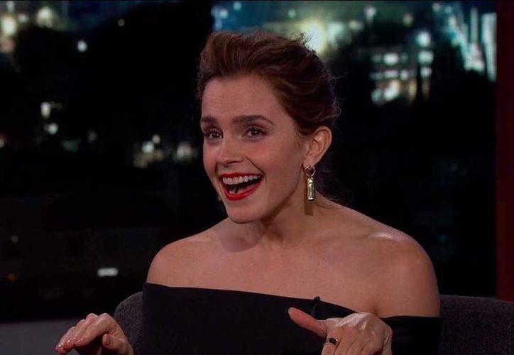 Emma aseguró que por su culpa se tenían que repetir las escenas. (Foto: Contexto/Internet)