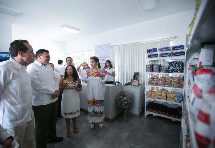 Una nueva tienda de Diconsa abrió sus puertas en la colonia Ciudad Industrial de Mérida. (Foto cortesía del Gobierno de Yucatán)