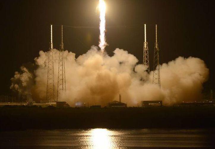 El 22 de mayo de 2012 fue lanzado el cohete Falcon 9 con la cápsula no tripulada Dragon, de la empresa Space Exploration Technologies. (EFE)