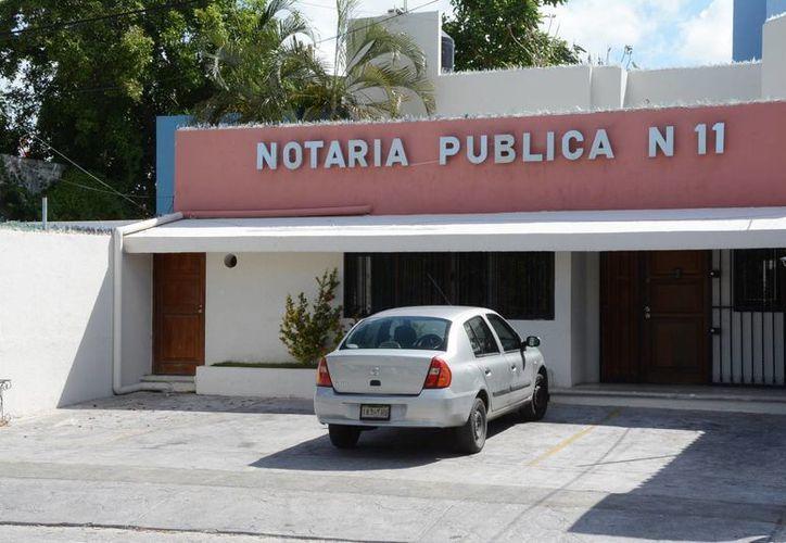 El abierto se realiza ante un notario, donde el testador expresa la última voluntad. (Tomás Álvarez/SIPSE)