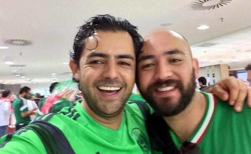 Sergio Israel Eguren (i) y Rafael Miguel Medina continúan detenidos en Brasil. (fuerza.com.mx)