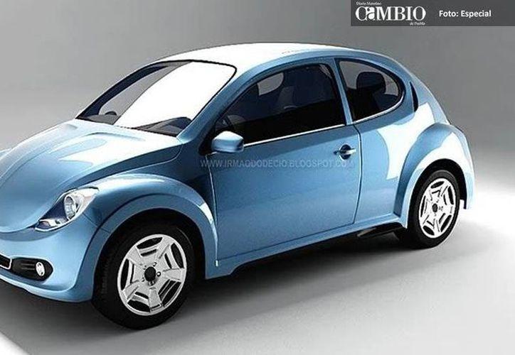 Prototipo del nuevo Vocho, una 'derivación' del auto que fue popular el siglo pasado. (Cambio)