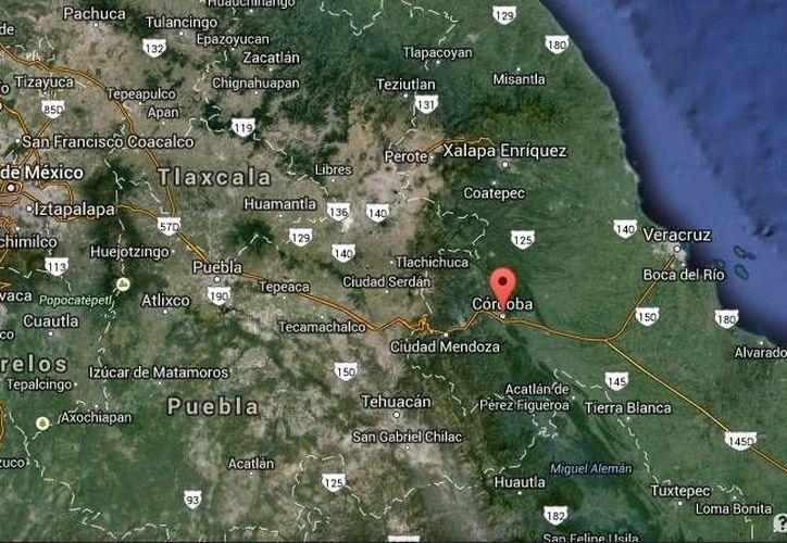 La surada podría derivar en la formación de incendios forestales sobre todo en la zona de Córdoba. (Google Maps)