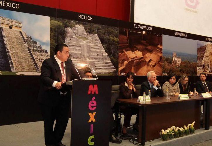 El gobernador Roberto Borge Angulo encabeza la delegación. (Redacción/SIPSE)