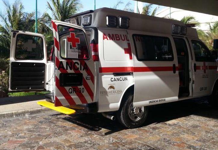 La Cruz Roja sugiere que se aproveche el espacio debajo de los puentes como bases de ambulancias.  (Redacción/SIPSE)
