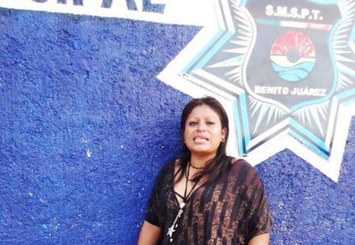 Yudith Nava Reyes fue puesta a disposición de las autoridades. (Cortesía/SIPSE)