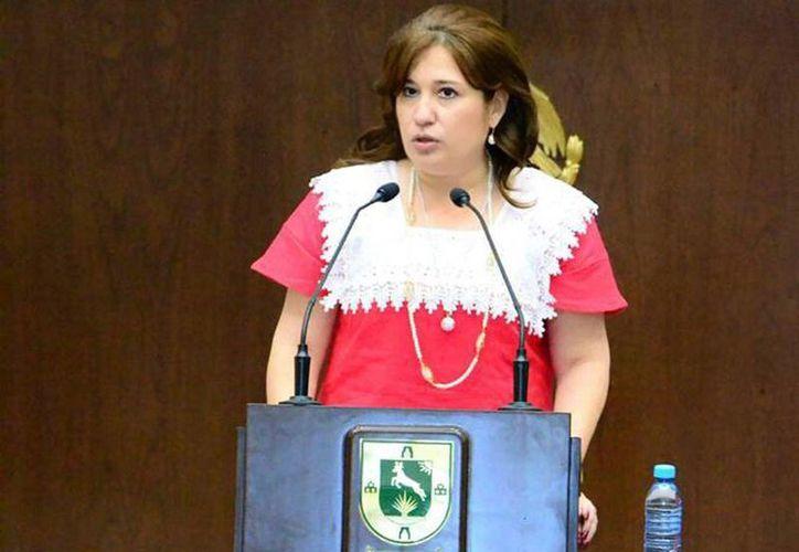 La diputada Celia Rivas Rodríguez aseguró que el trabajo legislativo necesita la suma de individualidades para alcanzar mayorías. (Milenio Novedades)