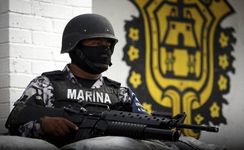 La Armada de México dijo que solo se videograban operaciones en determinadas circunstancias, ya que es imposible documentar todas las actividades que realiza contra la delincuencia. (Archivo/Notimex)