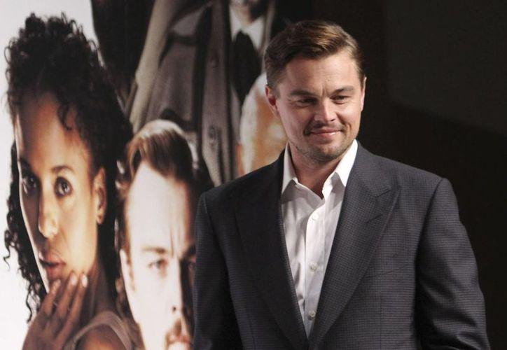 """(Leonardo di Caprio durante la promoción de """"Django Unchained"""" en Tokyo. (Agencias)"""