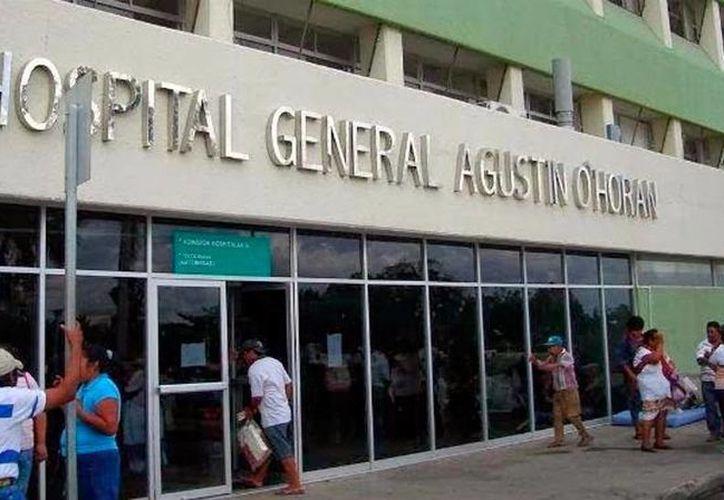 A las 00:09 horas de este 10 de mayo de 2016 nació el primer bebé del día en los hospitales de Yucatán, en el 'Agustín O'Horán'. (José Salazar/SIPSE)
