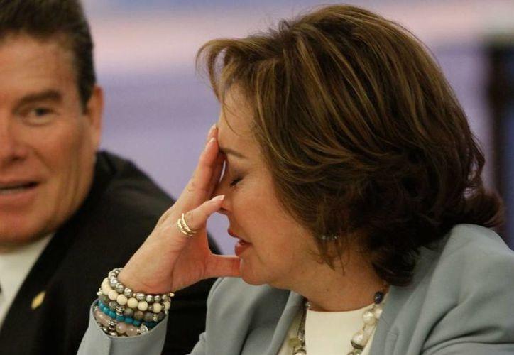 La PGR ejecutó este martes una orden de aprehensión contra la dirigente nacional del SNTE, Elba Esther Gordillo Morales. (sdpnoticias.com)