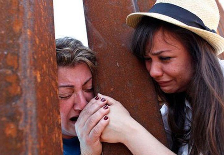 """La """"parte más trágica"""" de la migración lo constituye la separación de las familias. (Foto: radiotexmex)"""