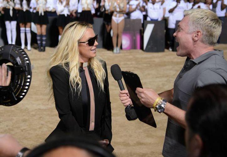 """""""Britney: Piece of Me"""" se estrenará el 27 de diciembre, según declaró """"La princesa del pop"""". (Agencias)"""