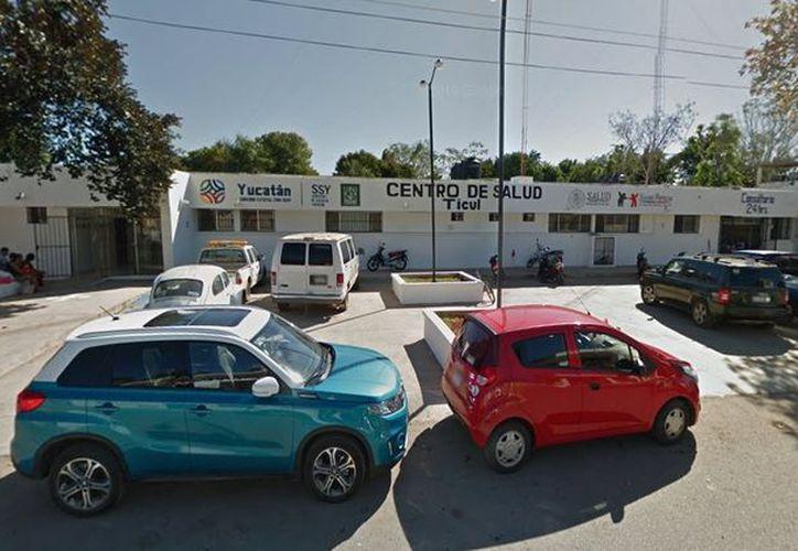 El menor fue atendido en el Centro de Salud de Ticul. (Google Maps)