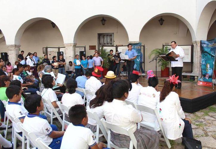 La UADY celebra en su patio central el Día Mundial del Libro. (SIPSE)