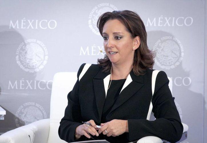 La secretaria de Turismo (Sectur), Claudia Ruiz Massieu Salinas. (Redacción/SIPSE)