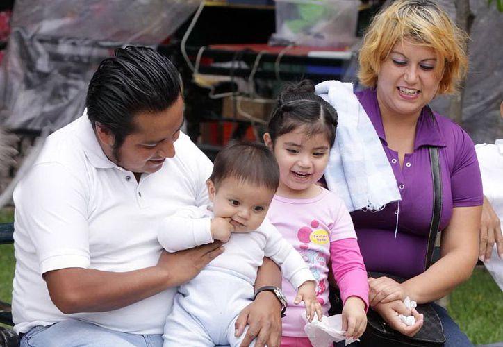 La familia, tema importante en la planificación de las personas. (Milenio Novedades)
