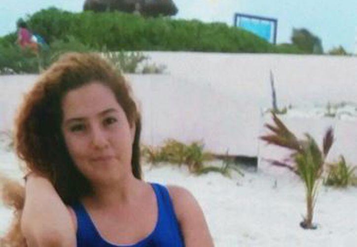 La joven, Janeth Michelle Ríos López se encontraba en Cancún de vacaciones cuando desapareció. (Redacción/SIPSE)