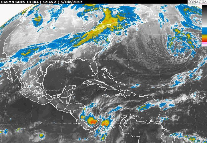 Para hoy se esperan tormentas durante el día en Chetumal. (Conagua)