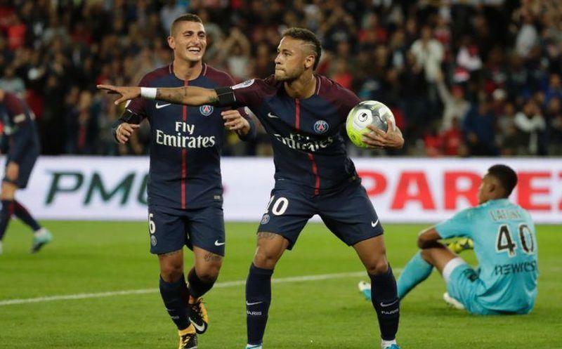 PSG, a semifinales con goles de Neymar y Rabiot