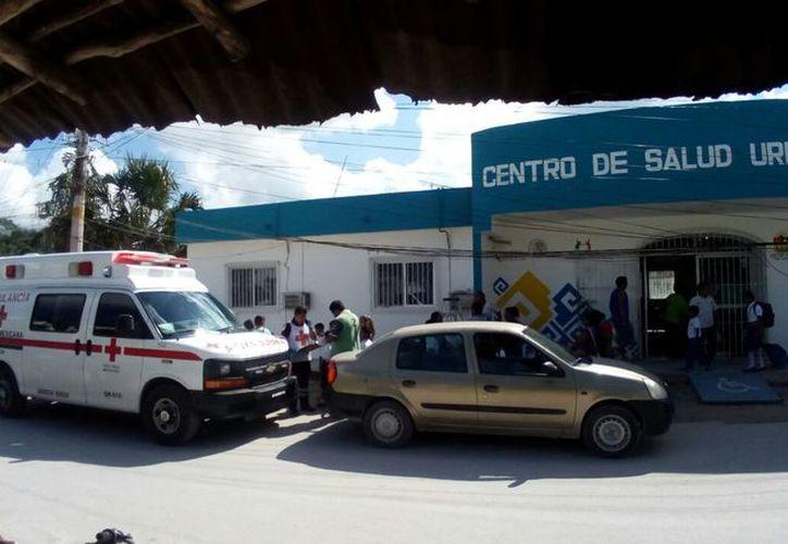 El menor falleció en el Centro de Salud de Tres Reyes. (Eric Galindo/SIPSE)