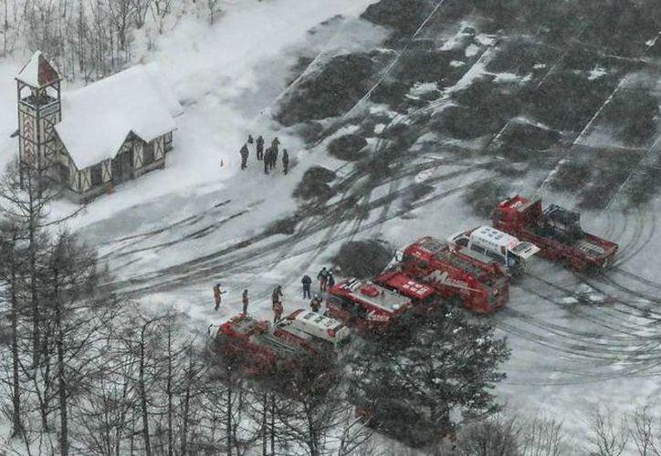 El Shirane ha entrado en erupción y ha provocado una avalancha de rocas y nieve. (El País)