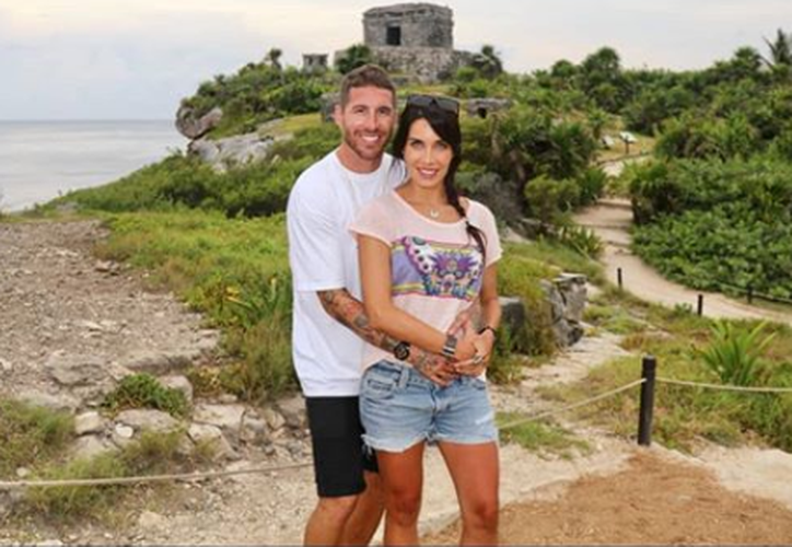 La pareja visitó las ruinas de Tulum, donde aprovecharon para tomarse varias fotos. (Instagram)