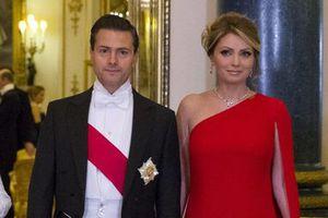 La reina Isabel II recibe a Enrique Peña Nieto