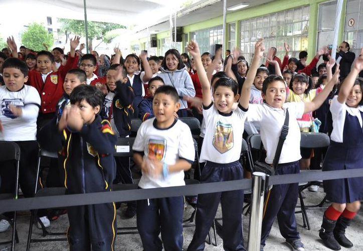 Miles de niños de educación básica se preparan para las vacaciones. (Contexto/Internet)