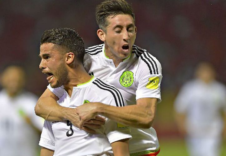 Diego Reyes metió el gol que hizo triunfar al equipo mexicano (Foto: MEXSPORT)