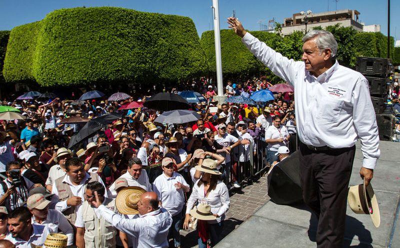 El candidato presidencial aseguró que pese a que el movimiento que encabeza es pacífico. (Notimex)