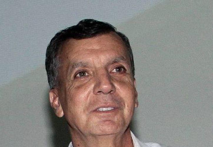 Imagen de Guillermo Haro Bélchez, procurador Federal de Protección al Ambiente, quien habló sobre la denuncia que se interpuso por el 'Kots Kaal Pato'. (Milenio Novedades)