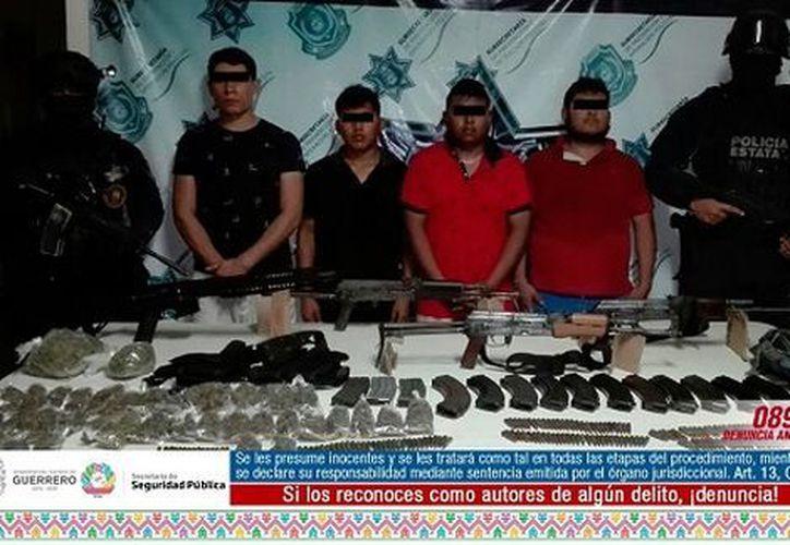Los detenidos fueron identificados por las autoridades. (Milenio)