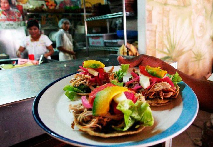 La muestra gastronómica de la Semana de Yucatán en México es uno de los mayores atractivo de la exposición. La edición 2015 se celebrará del 10 al 19 de julio. (Archivo/SIPSE)