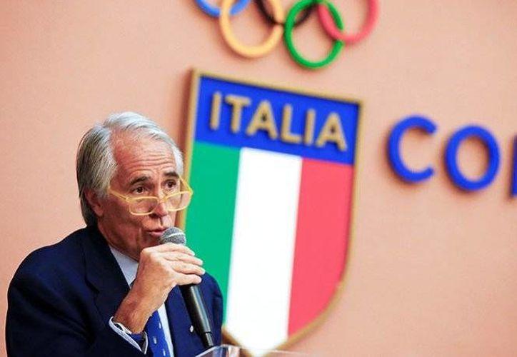 El presidente del Comité Olímpico Italiano (CONI), Giovanni Malagó (foto), retiró oficialmente la candidatura Olímpica de la ciudad de Roma.(EFE)