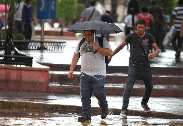 La zona de inestabilidad favorece algunas precipitaciones en la península de Yucatán. (Notimex)