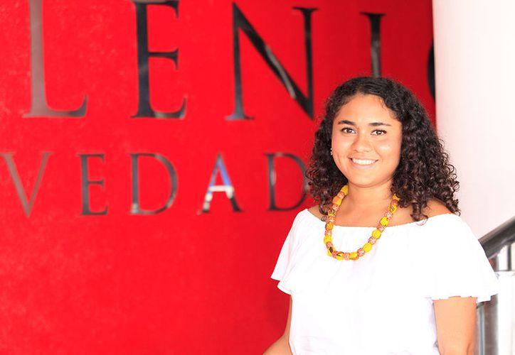 aura Elena López Soberanis es la única yucateca que estudia ópera en el Conservatorio Superior de Liceo en Barcelona. (Milenio Novedades)