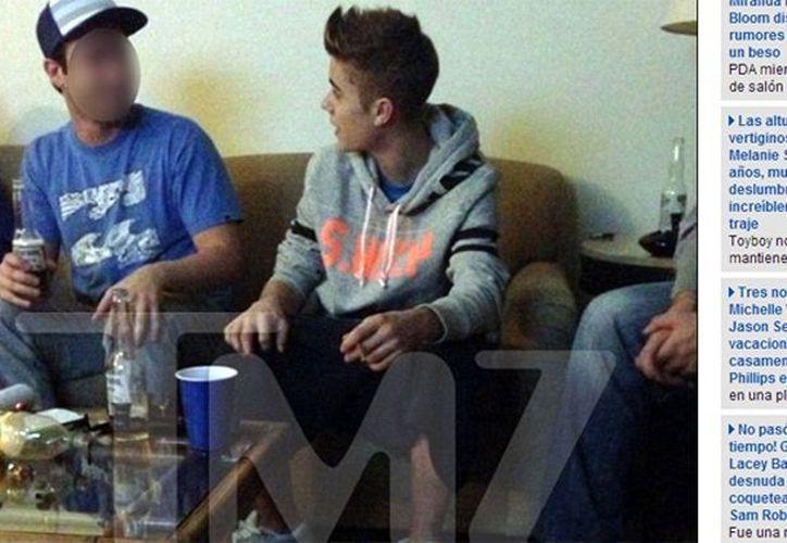 "Abogados del cantante aseguraron que las fotos publicadas por TMZ están ""manipuladas"". (glamorama.cl)"
