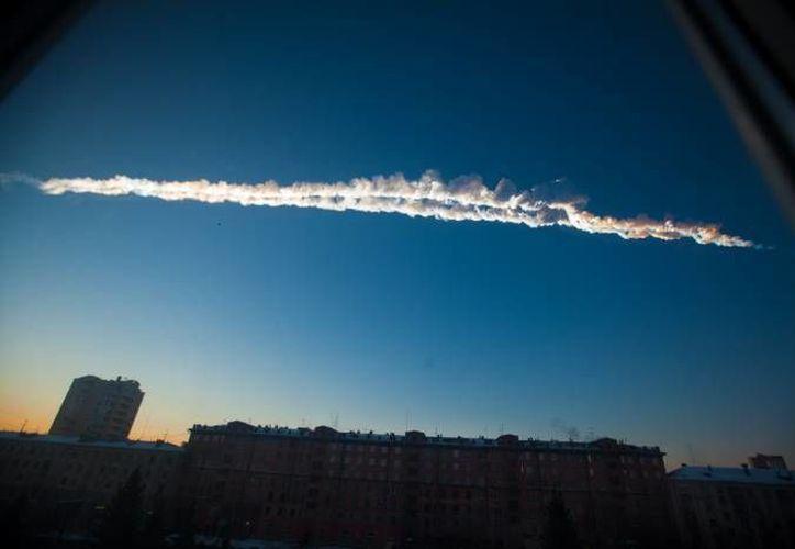 En el caso del bólido ruso, se trataba de un meteoro de 17 metros de largo, con un peso de unas 10 mil toneladas.