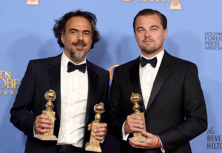El cineasta mexicano Alejandro González Iñárritu se llevó este domingo el Globo de Oro al mejor director de cine por su trabajo en 'The Revenant' (AP)