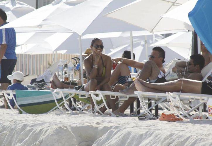 Lidera Cancún la captación turística en la entidad. (Tomás Álvarez/SIPSE)