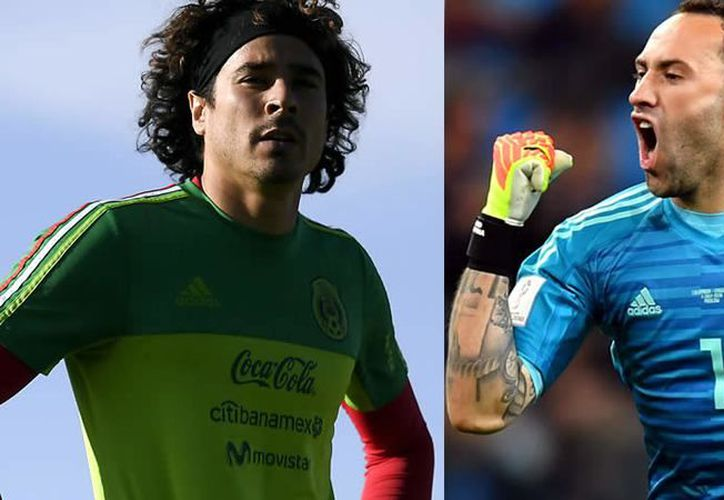 Se complica el fichaje de Guillermo Ochoa al Nápoli, el club italiano busca a David Ospina. (Foto: mediotiempo.com)