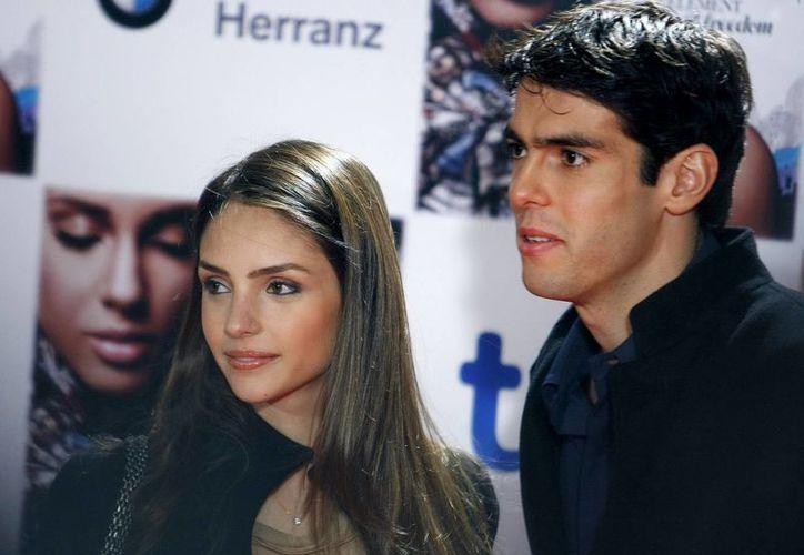 Kaká conoció a Carol Celico desde 2002, y años después se casaron, pero su matrimonio finalmente llegó a su fin. (EFE)