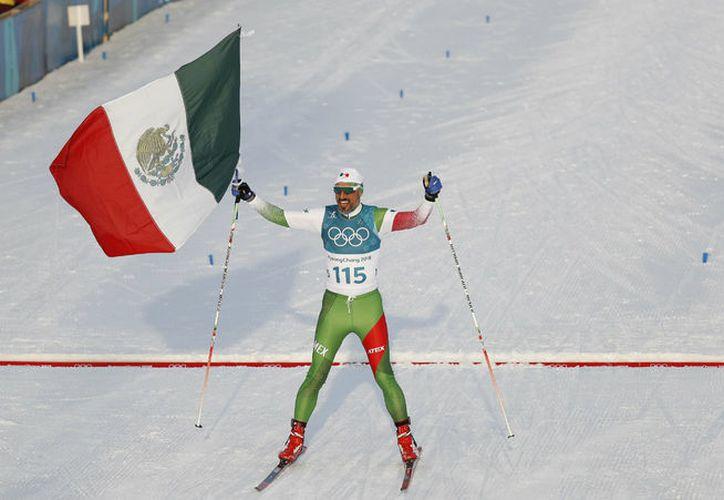 A sus 43 años de edad, el originario de Querétaro mostró aptitud y grandeza para tomar parte en la especialidad. (Milenio)