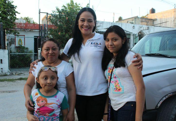 Una política fiscal integral, orientada al bienestar social de las familias y el desarrollo económico, propone Karla Romero. (Redacción/SIPSE)