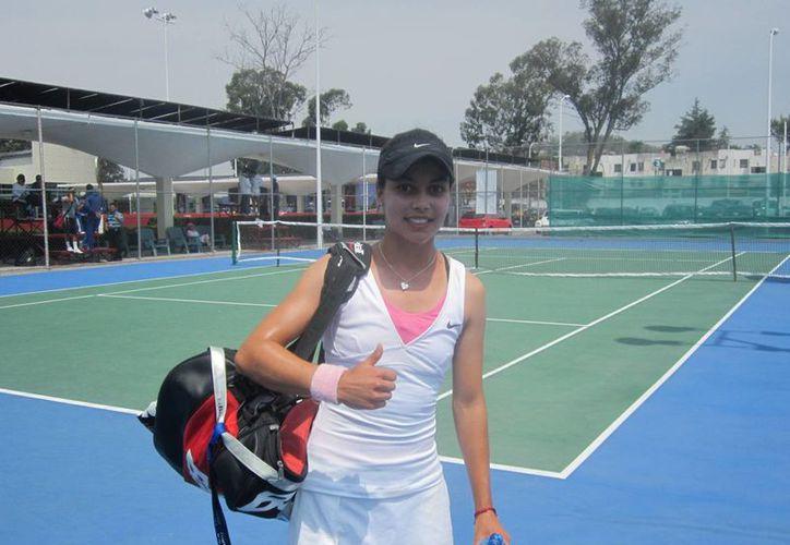 Renata Zarazúa no pudo vencer a una tenista húngara que nunca le había ganado y quedó fuera del Abierto Juvenil Mexicano. (dxtweb.com.mx/Foto de archivo)
