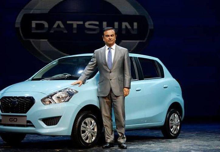 Nissan presenta en India el nuevo vehículo de la marca y será vendidoa partir del próximo año en India (Nissan)