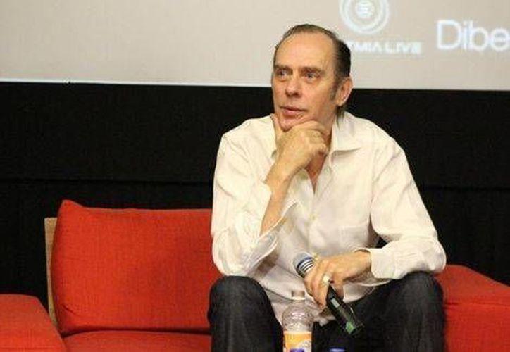 Peter Murphy presentará su más reciente producción en México. (Alberto Barajas/Milenio)